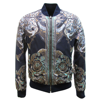 Classic Versace Style Wind Jacket