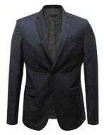 Picture of Versace Textured Black Trend Suit