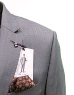 Picture of Ted Baker Marine Grey Sharkskin Suit