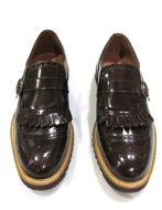 Picture of Reporter Brown Tassel Strap Loafer Shoes