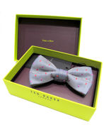 Picture of Ted Baker Grey Spotted Bow Tie