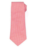Picture of Hemley Red German Made Silk Tie