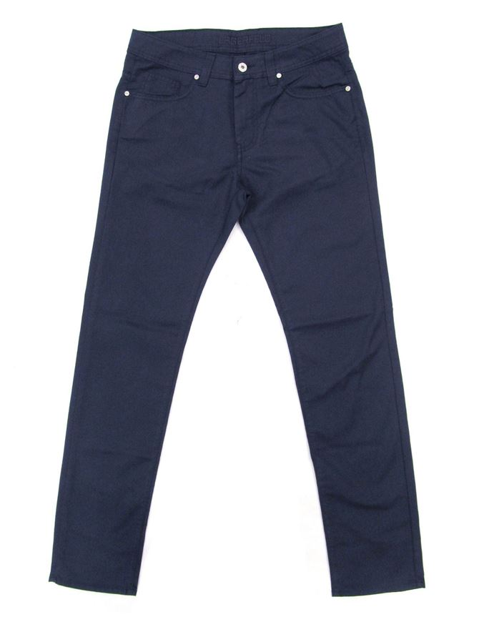 Picture of Lagerfeld Cotton Stretch Textured Navy Jean