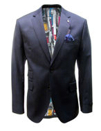 Picture of Ted Baker Navy Window Check Suit