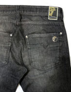Picture of Versace Wash Stud Stretch Jean