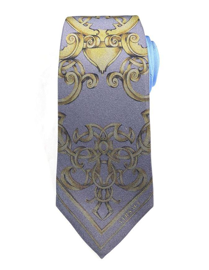 Picture of Versace Baroque Mainline Silk Ties