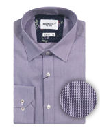 Picture of Brooksfield Purple Sawtooth Shirt