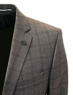 Picture of Lagerfeld Charcoal Over Check Suit