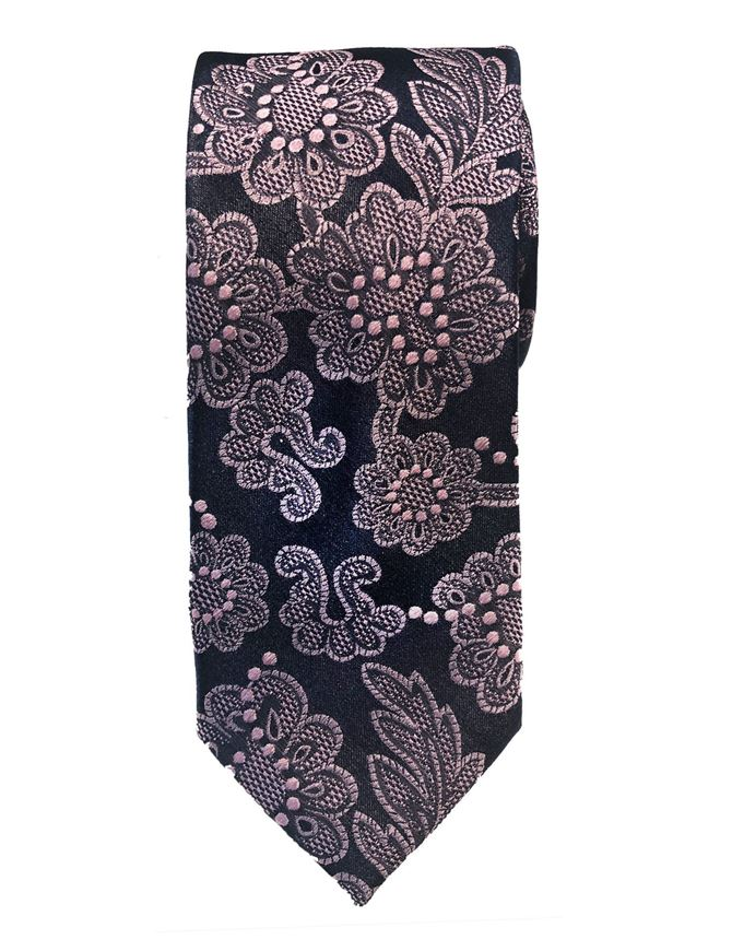 Picture of Ted Baker Floral Lace Silk Tie