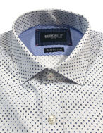 Picture of Brooksfield Motif Print Luxe Shirt