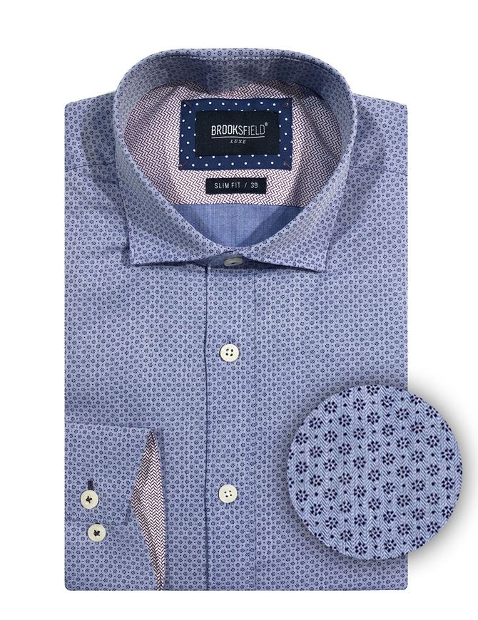 Picture of Brooksfield Floral Dots Luxe Shirt
