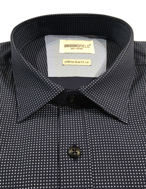 Picture of Brooksfield N-Dot Print Slim Shirt