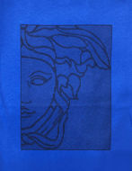 Picture of Versace Half Medusa Illusion  Tshirt