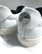 Picture of Versace Collection Silver Greca Slipon Sneaker