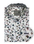 Picture of No Excess White Toy Print Shirt