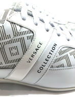 Picture of Versace Collection Greca Laceup Trainer