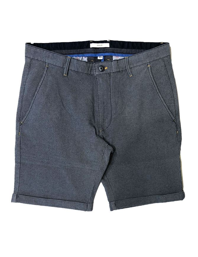 Picture of Gaudi Navy Zigzag Shorts