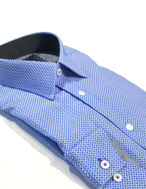 Picture of Brooksfield Cube Check Luxe Shirt