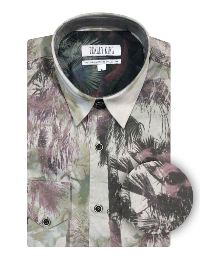 Picture of Pearly King Cramp Floral Shirt