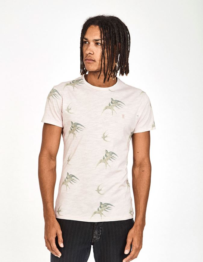 Picture of Pearly King Reign Swallow Print Tee