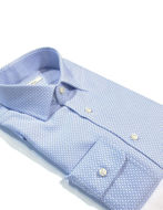 Picture of Ingram Abstract Weave Blue Shirt