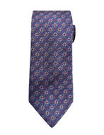 Picture of Ted Baker Square Pattern Silk Tie