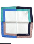 Picture of Ted Baker Boarder Silk Pocket Square