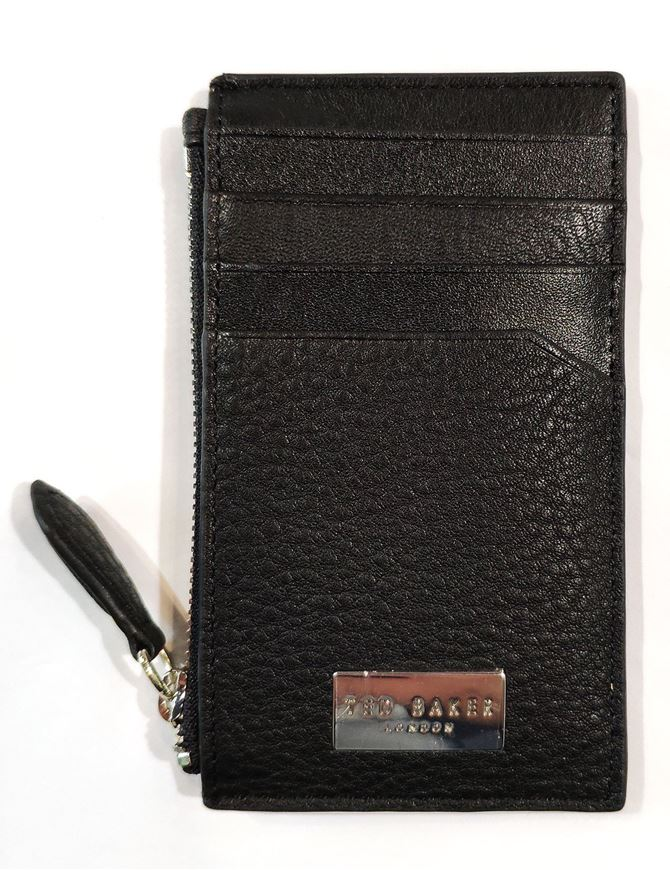 Picture of Ted Baker Leather Cards & Coin Holder Wallet