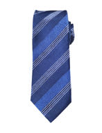 Picture of Hemley German Made Jacquard Stripe Silk Tie