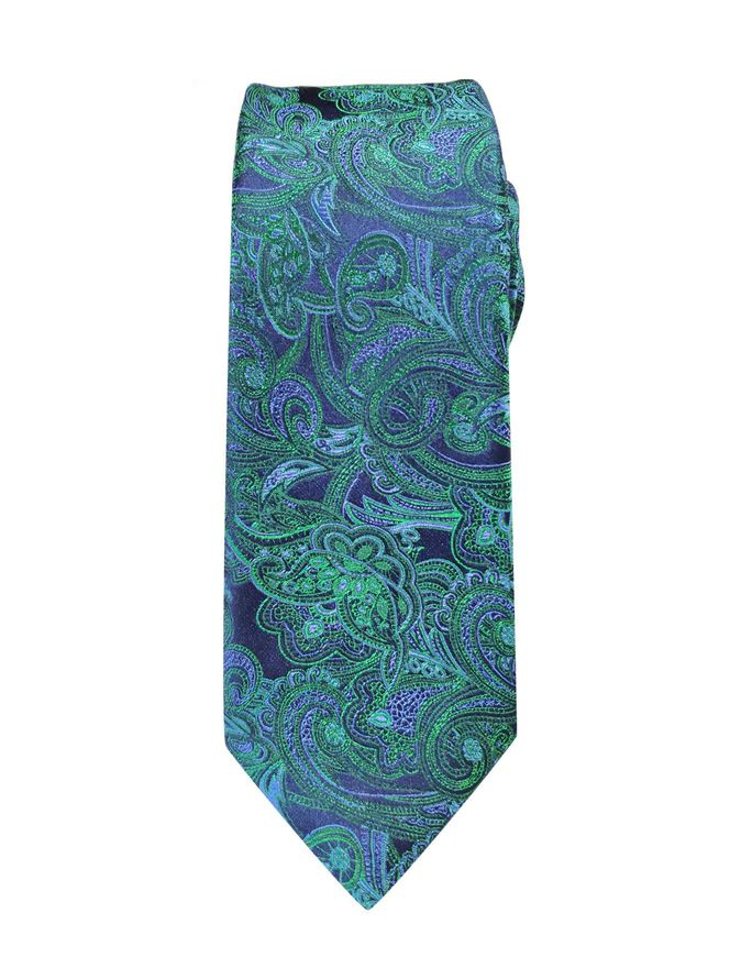 Picture of Hemley German Made Jacquard Paisley Silk Tie