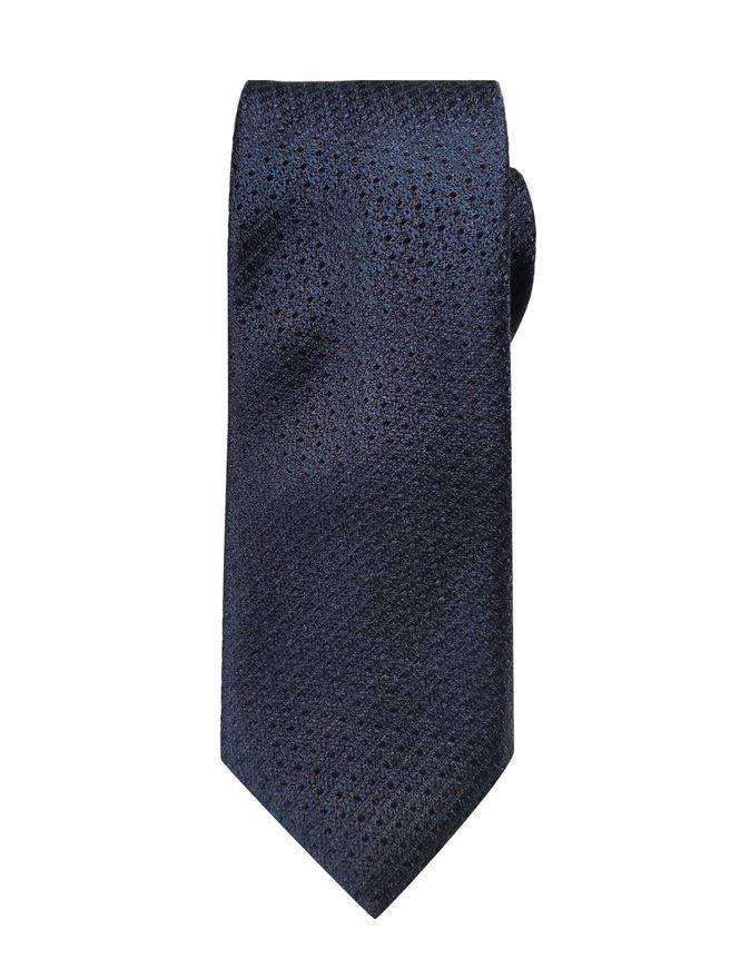 Picture of Hemley German Made Textured Dot Silk Tie
