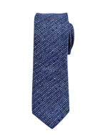Picture of Hemley German Made Broken Stripe Skinny Silk Tie