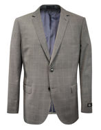 Picture of SI Charcoal Grey Window Check Suit