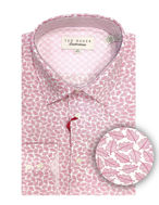 Picture of Ted Baker Red Leaf Print Shirt