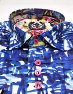 Picture of Au Noir Modesto Blue Shirt
