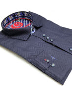 Picture of Au Noir Stephano Navy Shirt