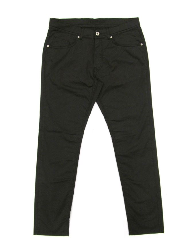 Picture of Lagerfeld Cotton Trousers in Black