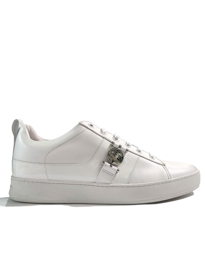 Picture of Versace Medusa Head Sneakers in White