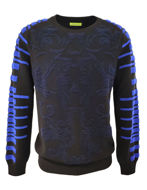 Picture of Versace Jeans Jacquard Knit in Black