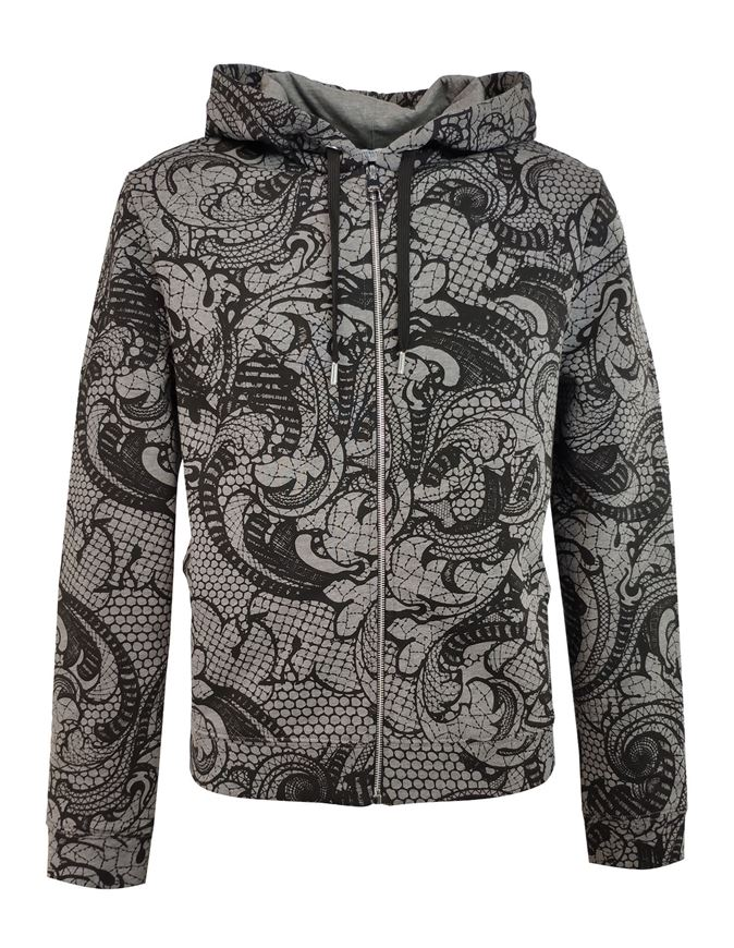 Picture of Versace Baroque Sweat Jacket