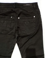 Picture of Versace Collection Black Washed Stretch Jean