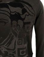 Picture of Versace Velvet Print Medusa Viscose Knit