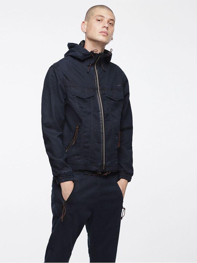 Picture of Diesel Denim Hoodie Jacket