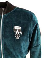 Picture of Karl Lagerfeld Velvet Sweat Jacket