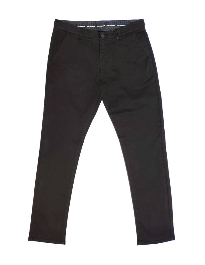 Picture of Lagerfeld Black Lux Brush Cotton Pant