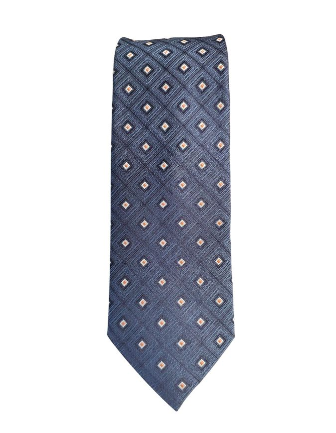 Picture of Ted Baker Diamond Geometric Silk Tie