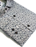 Picture of Brooksfield Leaf Print Luxe Shirt