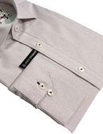 Picture of Brooksfield Plum Geo Stretch Shirt