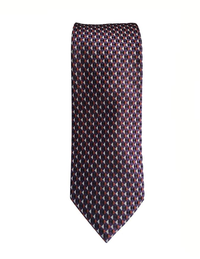 Picture of Ted Baker Triangle Geometric Silk Tie