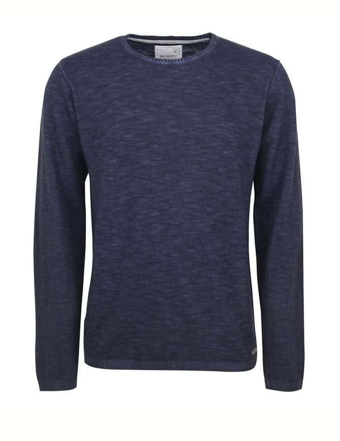 Picture of No Excess Dye Washed Navy Pullover